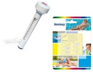 Bestway: Zestaw do basenu: łatki naprawcze + termometr