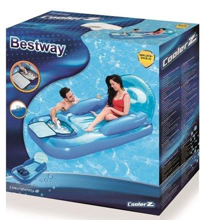 Bestway Materac do pływania z torbą chłodzącą