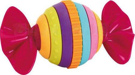 Bezpieczna kolorowa grzechotka cukierek obrotowy