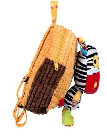 Dumel Plecak osiołek przedszkolno wycieczkowy