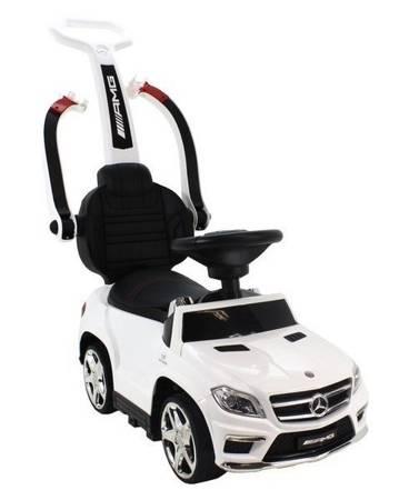 Jeździk pchacz bujak Mercedes GL63 AMG 5w1 biały
