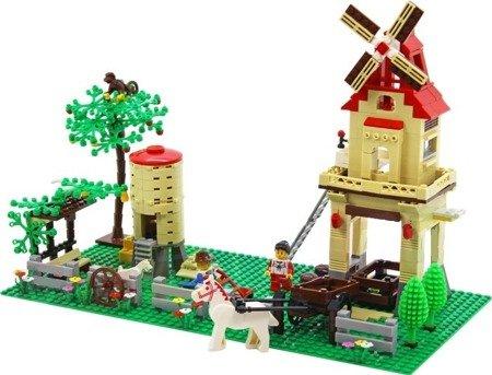 Klocki Farma z młynem