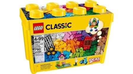 LEGO CLASSIC: Kreatywne klocki, duże pudełko (10698)
