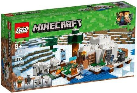 Lego (21142) Minecraft Igloo niedźwiedzia polarnego