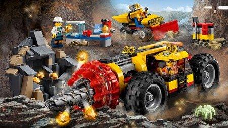 Lego City Ciężkie wiertło górnicze