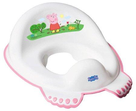 Nakładka antypoślizgowa Peppa Pig biało różowy