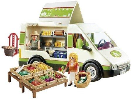 Play Mobil - Samochód do sprzedaży owoców i warzyw