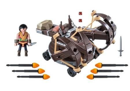 Playmobil Eret z ognistymi strzałkami