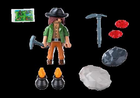 Playmobil Poszukiwacz minerałów