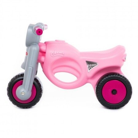 """Polesie 48233 Jeździk-motor """"Mini-moto"""" różowy"""