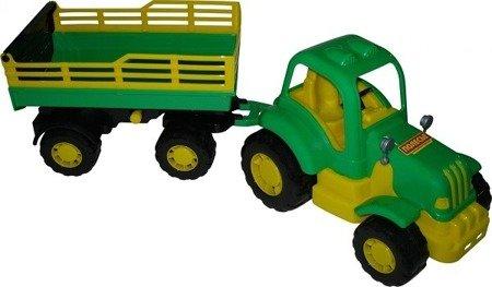 """Polesie Wader 44969: Traktor z przyczepą """"Siłacz"""""""