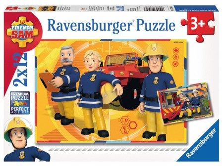 Ravensburger (RAp075843): Puzzle Strażak Sam w akcji