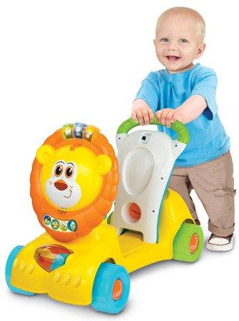Smily Play (0855): Jeździk Mini Skuter: Lew 3w1