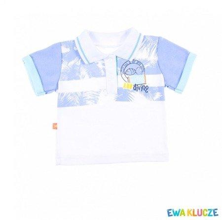 T-shirt Polo Ewa Klucze Summer Time (68-86)