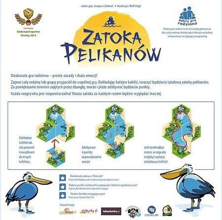 Trefl 01294 Gra - Zatoka Pelikanów