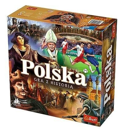 Trefl (01423) Gra edukacyjna: Polska