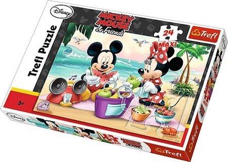 Trefl (14236): Puzzle 24 Maxi Piknik na plaży