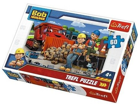 Trefl (17300): Puzzle 60 el.: Bob i Wendy, Bob budowniczy