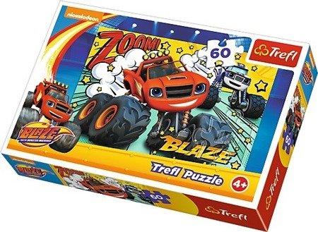 Trefl (17305) Blaze i megamaszyny Co za drużyna puzzle 60 el