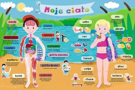Trefl Puzzle edukacyjne Moje ciało 40 elementów