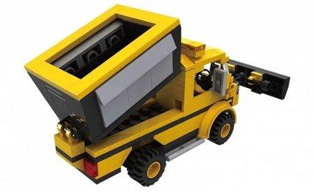 iCOM (KB0216): Klocki Blocki MyCity Pług śnieżny 153 el
